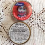 Fasching/Party Theater Make Up, gold, 25g Dose